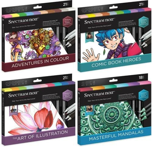 Spectrum Noir Advanced Discovery Kit - by Crafters Companion